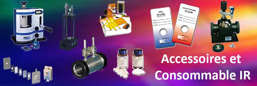 accessoires spectrometres ftir