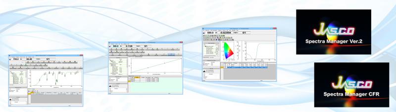 logiciel spectroscopie spectra manager