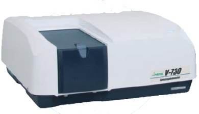 spectrometre uv visible nir v-730