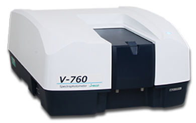 spectrometre uv visible nir v-760
