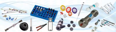consommables, accessoires et pièces détachées pour chromatographie