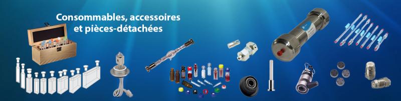 consommables, accessoires et pièces détachées pour spectroscopie et chromatographie