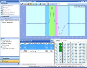 Logiciel Chromatographie ChromNAV 2 (démo / capture d'écran)
