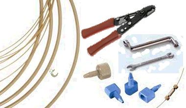tubes raccords et outils chromatographie