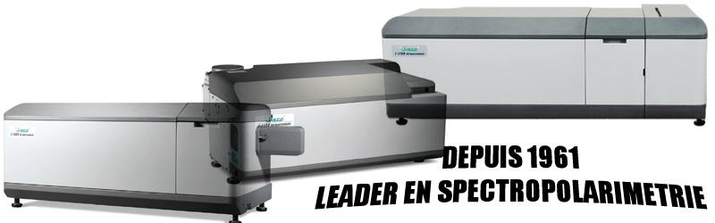 Spectropolarimètres depuis 1961