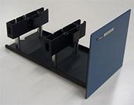 portoir cuve 10 cm spectro UV