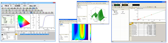 logiciel de spectroscopie