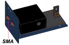 Interface fibre optique pour spectro UV/Vis/NIR