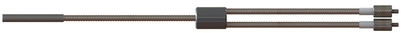 sonde de reflexion fibre optique pour UV/VIS/NIR