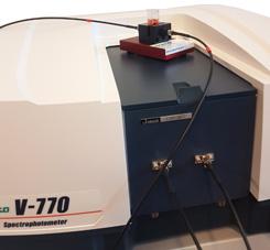 Spectromètre fibre optique UV-Vis NIR déporté