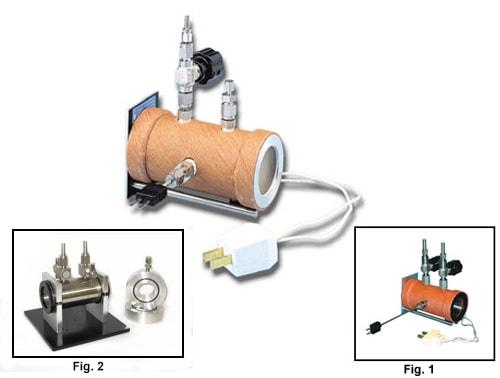 Cellule gaz chauffée IR ou pour vaporisation