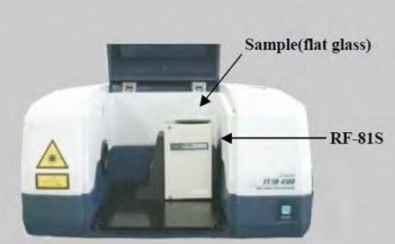 Accessoire FT-IR reflexion speculaire 10°