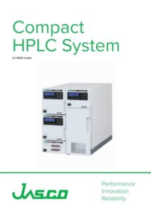 Brochure HPLC compacte JASCO