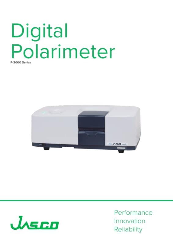 Brochure Polarimètre JASCO
