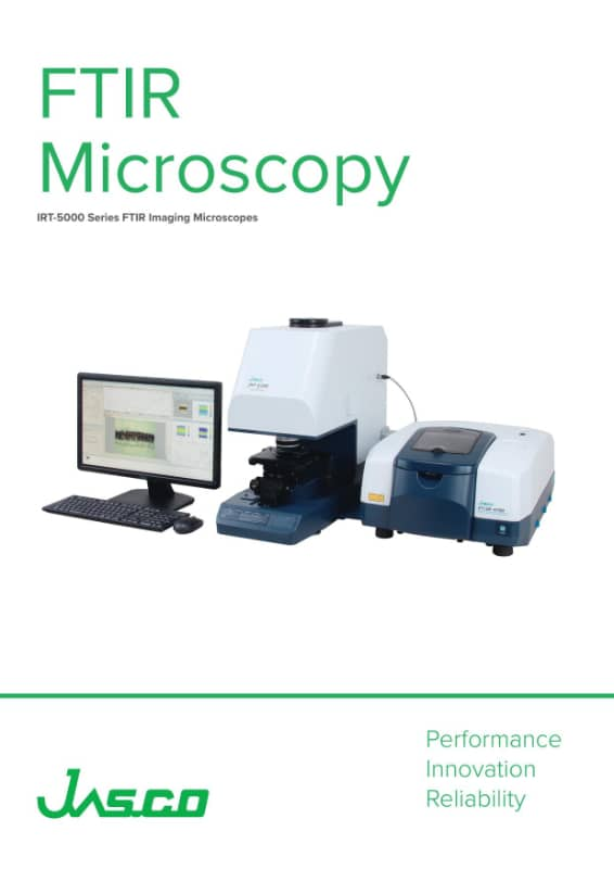 Brochure microscopie FTIR JASCO
